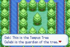 Pokemon The Tree of Time Screenshot