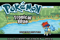 Pokemon TropicalBlue GBA ROM Hacks