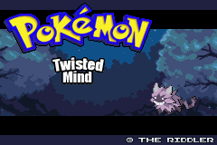 Pokemon Twisted Mind GBA ROM Hacks