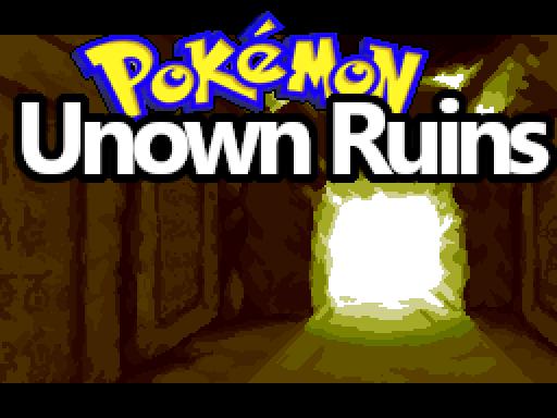 Pokemon Unown Ruins RMXP Hacks