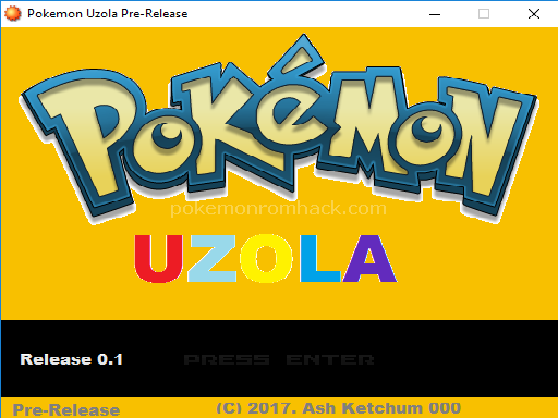 Pokemon Uzola RMXP Hacks
