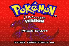 Pokemon Vaporeon Blue GBA ROM Hacks