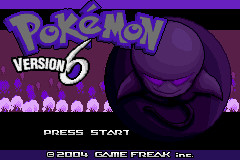 Pokemon Version 6 GBA ROM Hacks