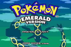 Pokemon Vherestorm Version GBA ROM Hacks