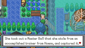 Pokemon Xenotime Screenshot
