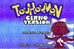 Touhoumon Cirno GBA ROM Hacks