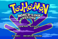 Touhoumon World Link GBA ROM Hacks